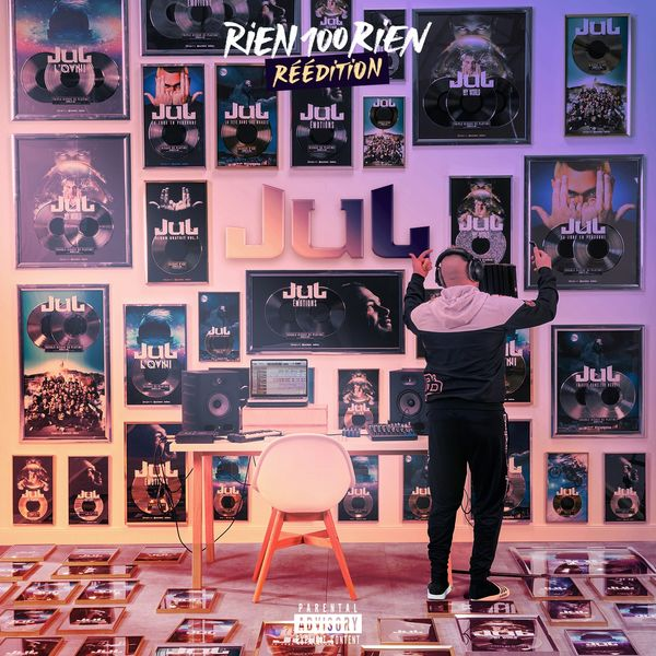 Jul - réédition - Rien 100 rien - album - pochette