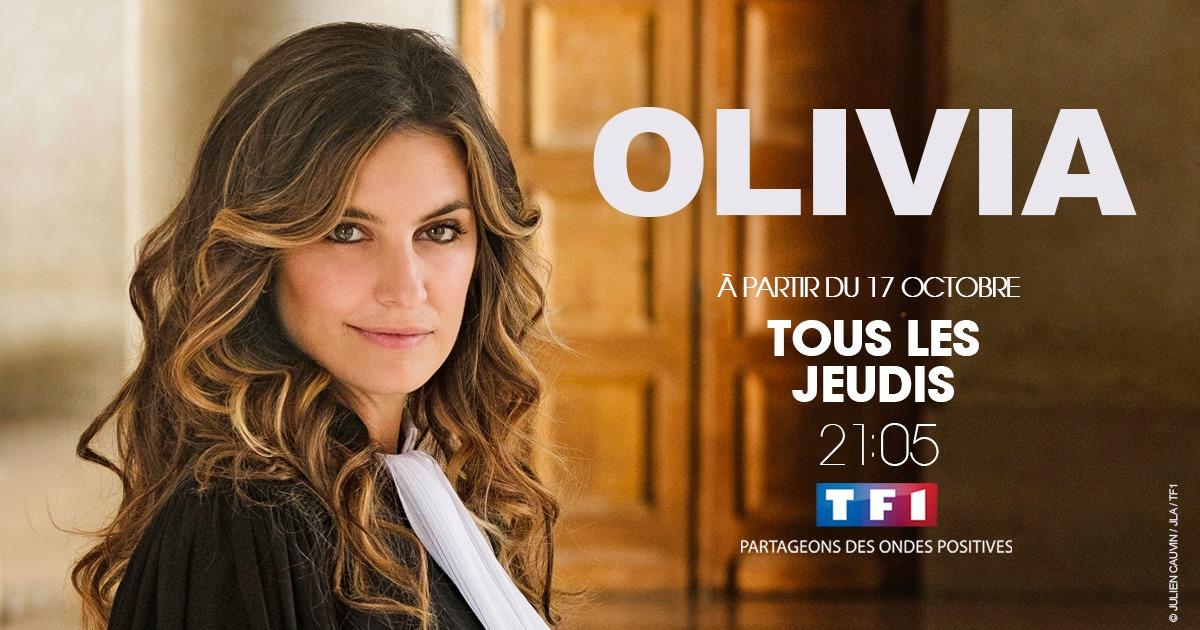 Laetitia Milot - série - Olivia - TF1