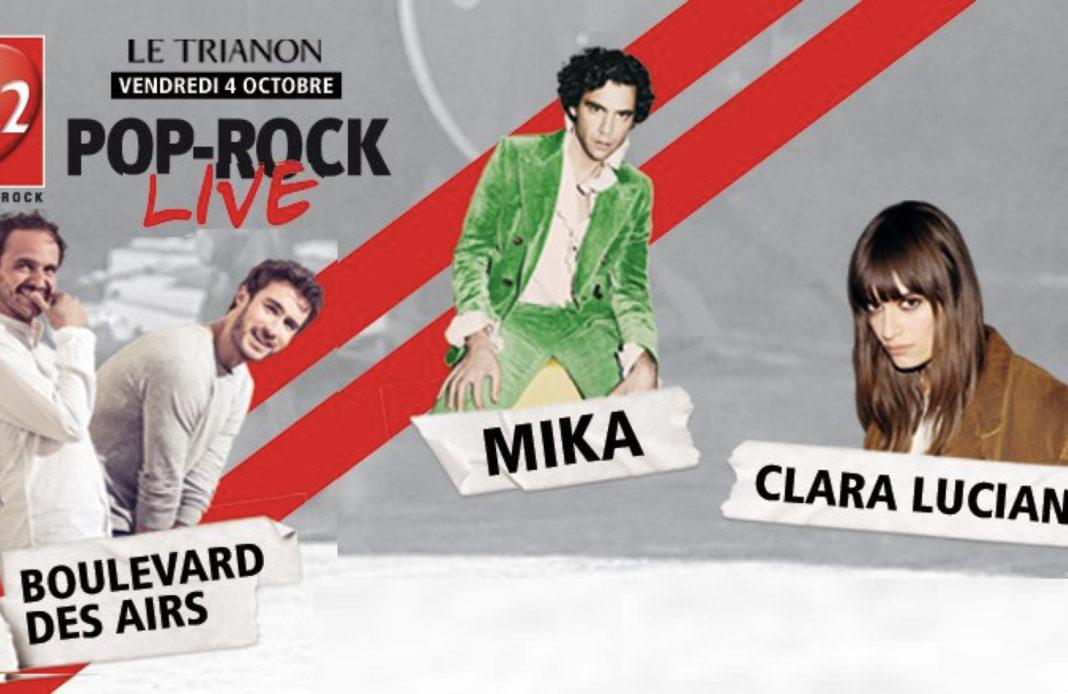 RTL 2 pop rock live - Trianon - Clara Luciani - Boulevard des airs - Mika