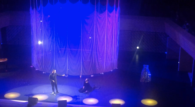 Slimane - Marie Agnès Gillot - Seine Musicale - Danse la chante là - concert