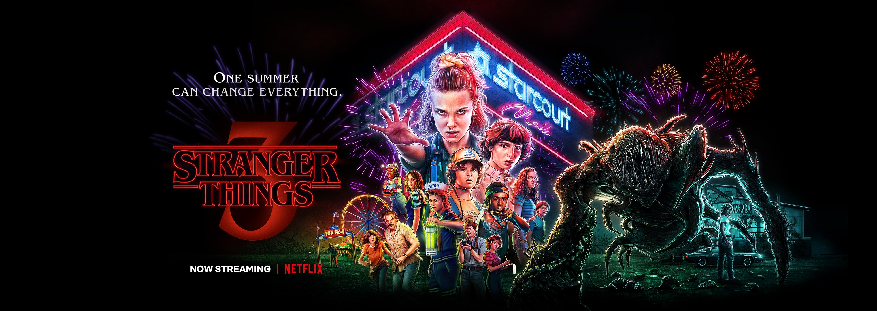 Stranger Things - série tv - audience - Netflix