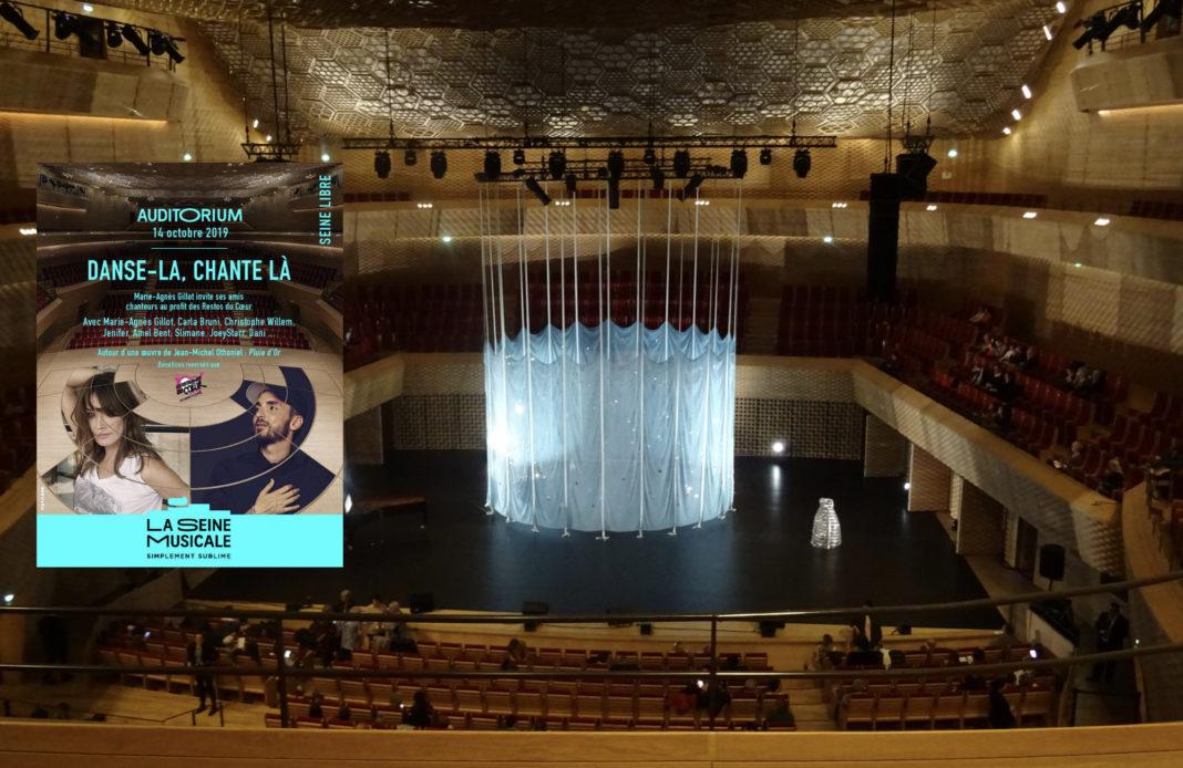 Danse la chante là - Seine Musicale - Marie Agnès Gillot - concert