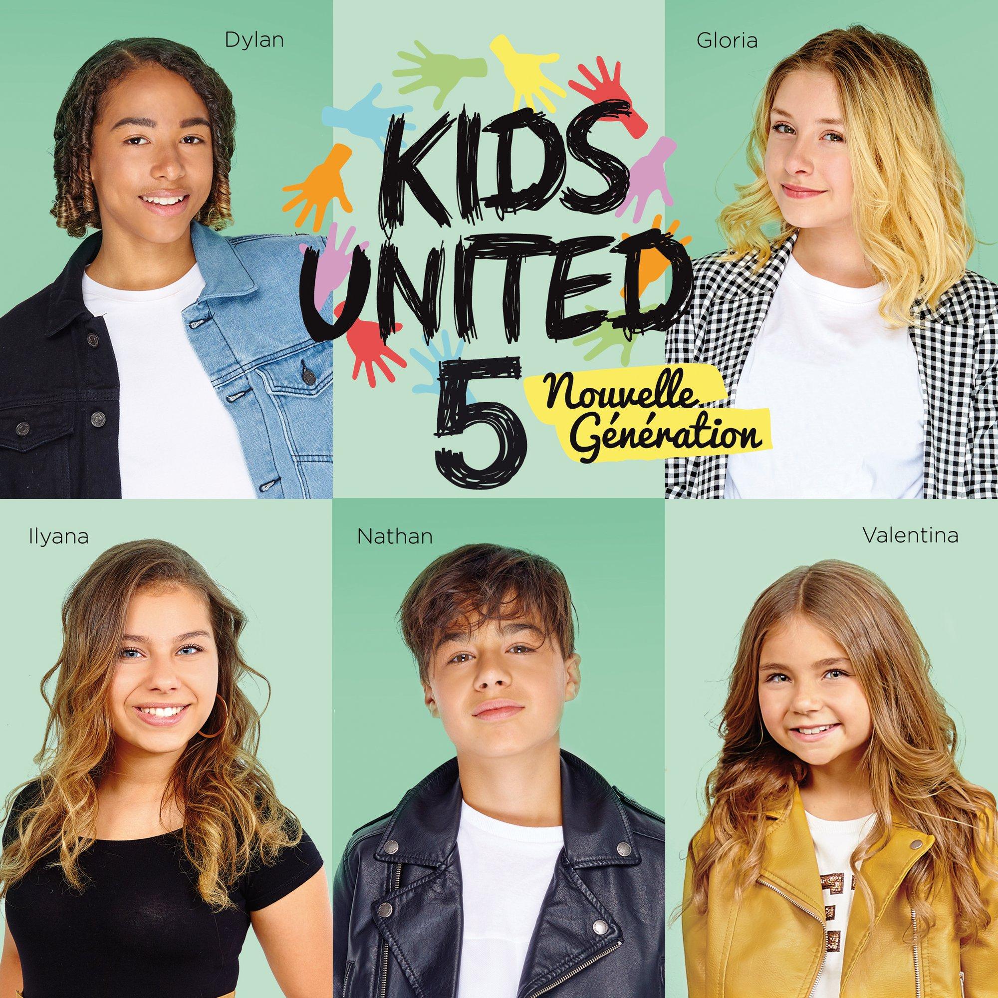 Kids United nouvelle génération - l'hymne de la vie - album - pochette