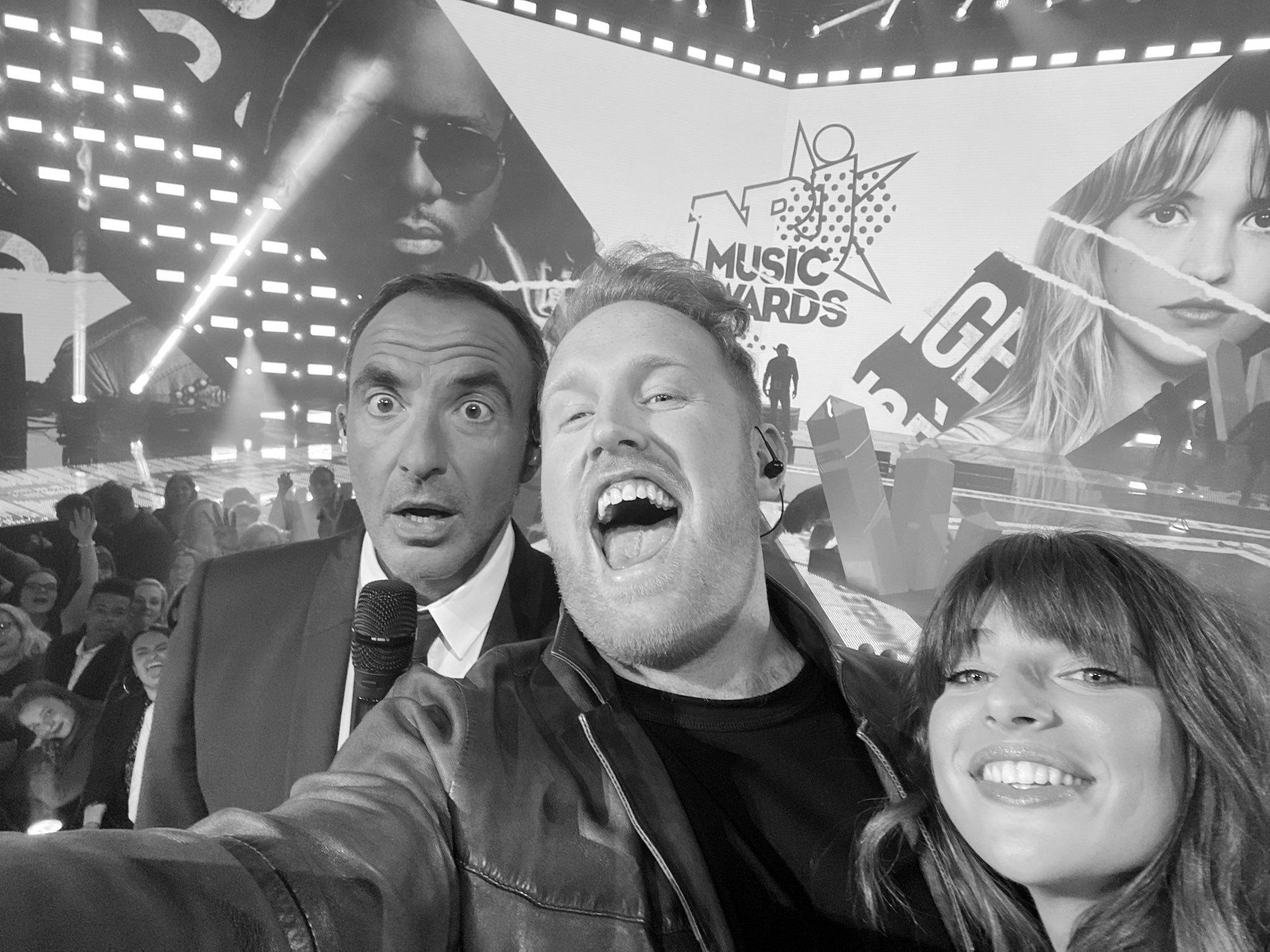 NRJ Music Awards 2019 - NMA 2019 - Nikos - Selfie - Gavin James