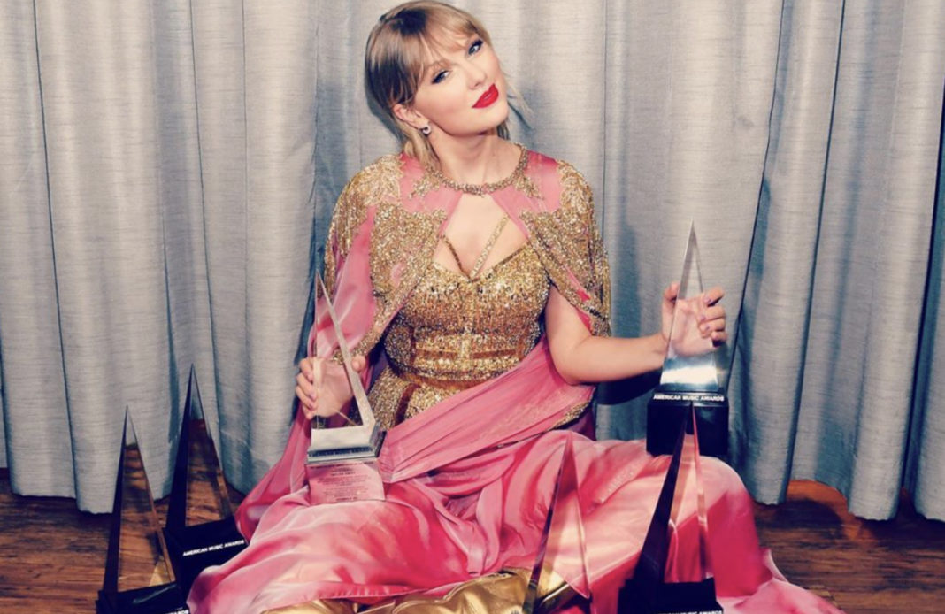 Taylor Swift - AMAS - American Music Awards - American Music Awards 2019 - trophées - record