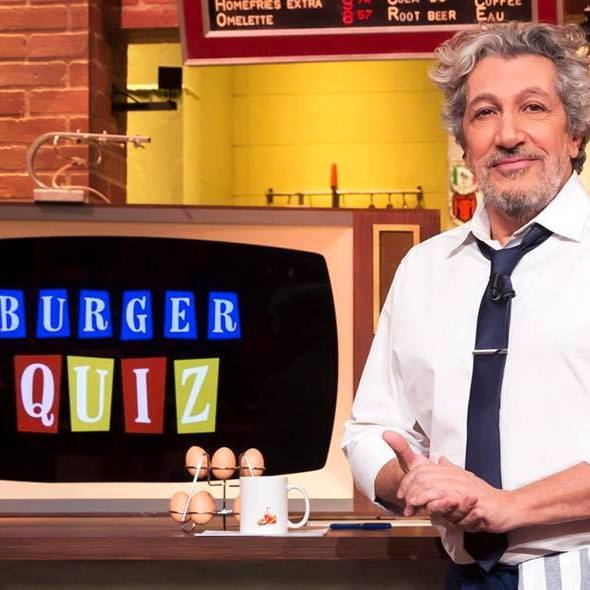 Alain Chabat - Burger Quiz - personnalités tv 2019 - classement