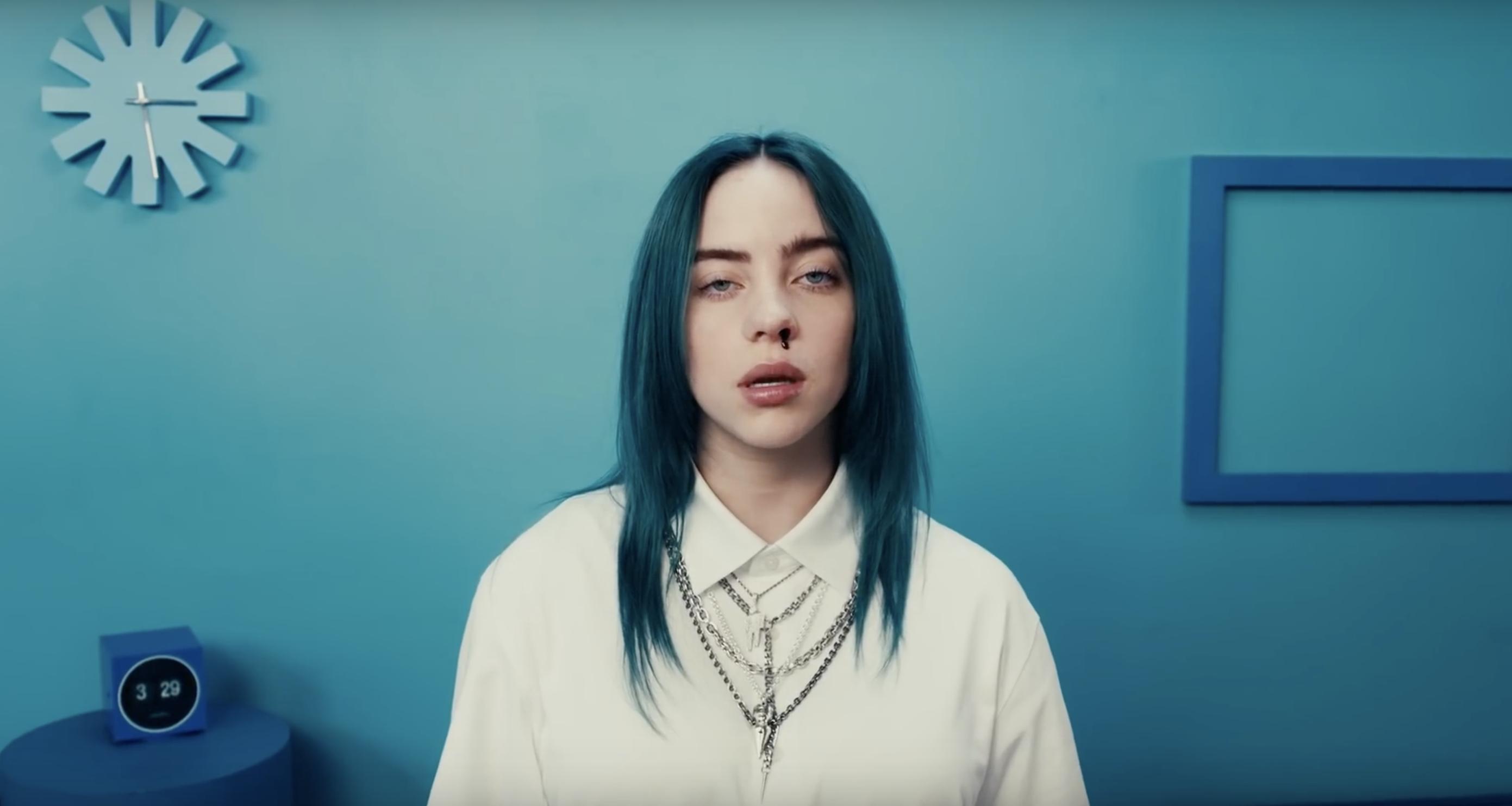 Billie Eilish - Apple Music awards 2019 -