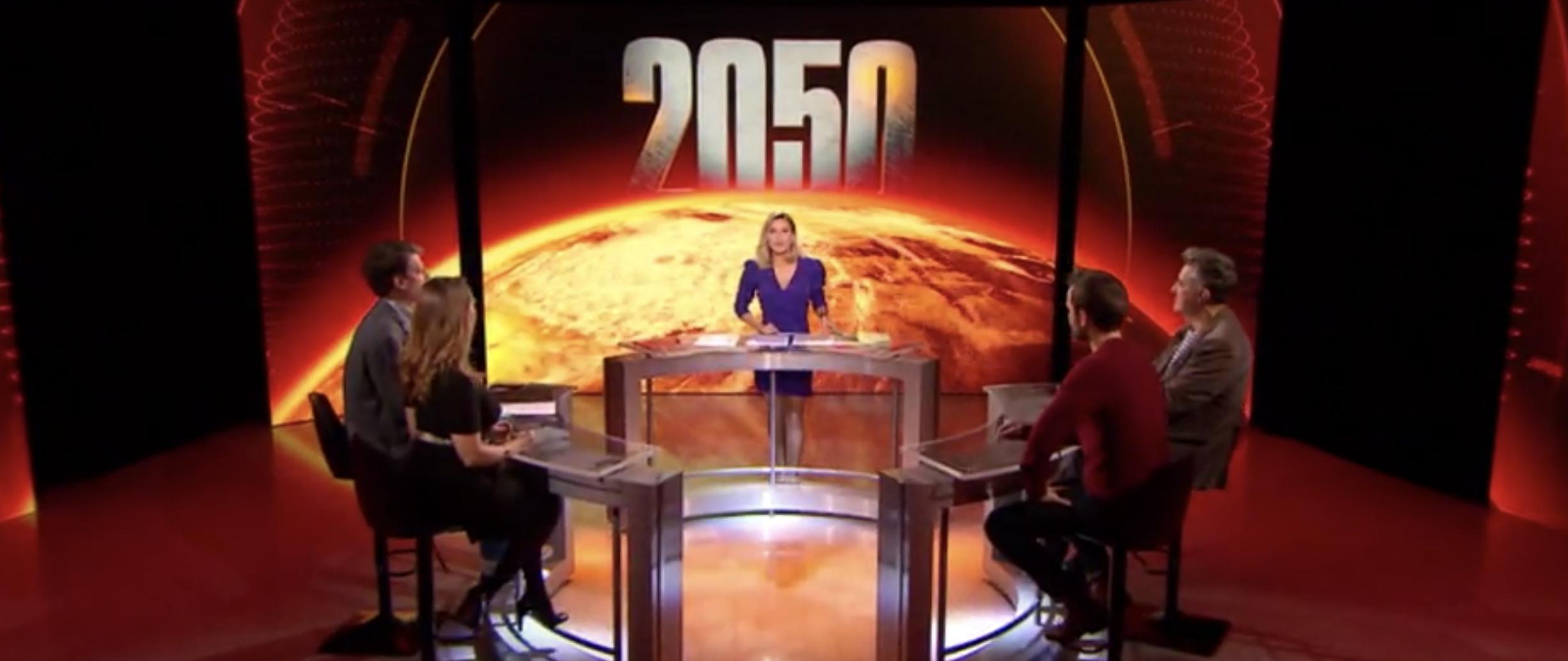 2050 - Alerte climat - W9 - documentaire - Stéphanie Renouvin - débat