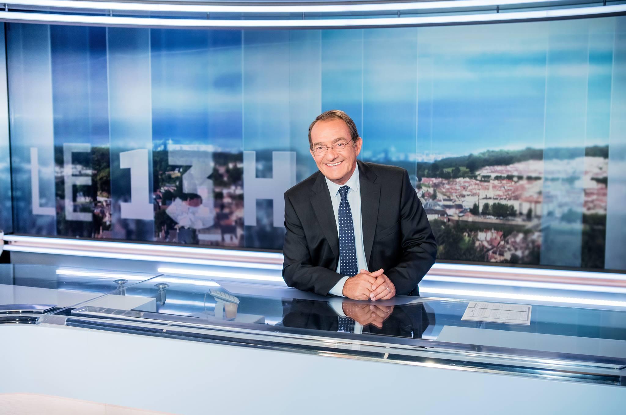 JT 13H - TF1 - Jean Pierre Pernaut - personnalités tv préférées
