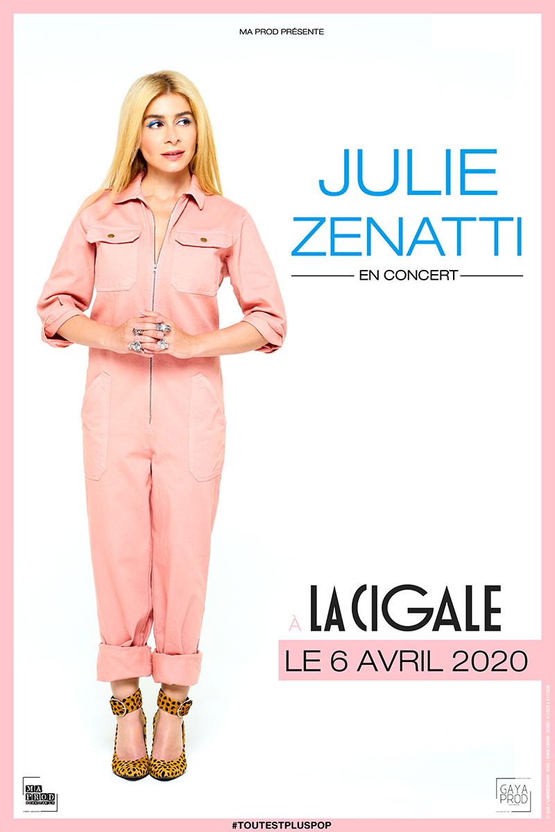 Julie Zenatti - retour - tout est plus pop