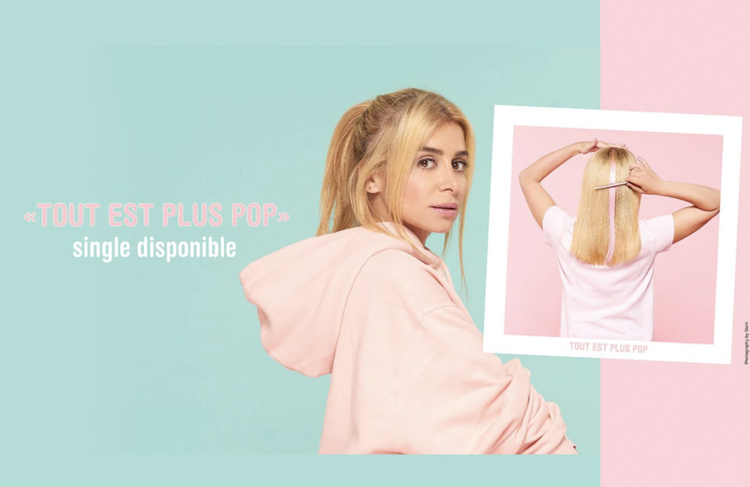 Julie Zenatti - tout est plus pop - retour - single - coloré