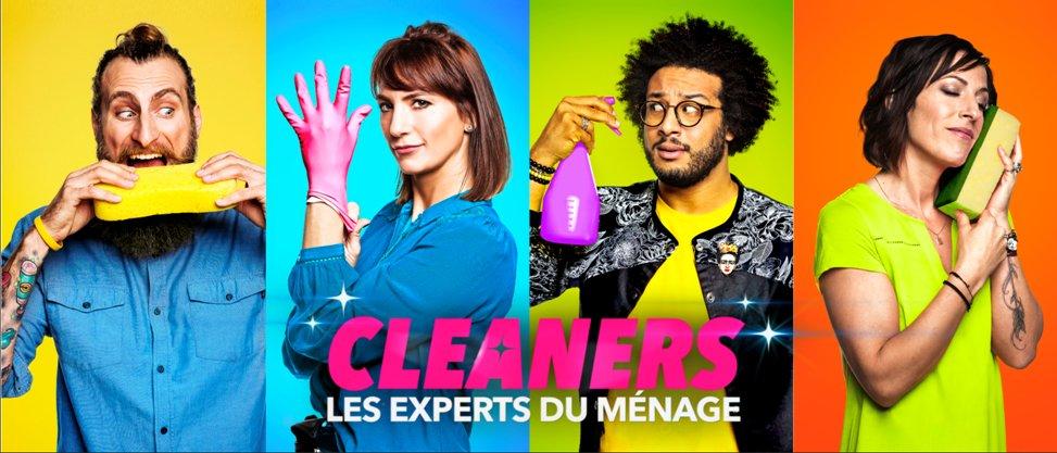 Cleaners les experts du ménage - TFX - divertissement - ménage - visio