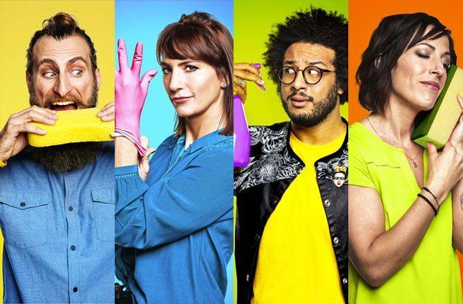 Cleaners les experts du ménage - TFX - divertissement - télé réalité - ménage - experts