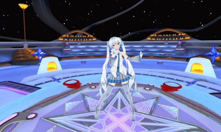 hatsune miku vr degica games psvr PS4 playstation store DLC téléchargement crypton rythme chanson vocaloid musique