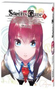 Steins Gate visual novel 5pb Mages mana books science fiction roman récit histoire japon akihabara xbox360 psp PSVita PS4 jeux vidéo manga