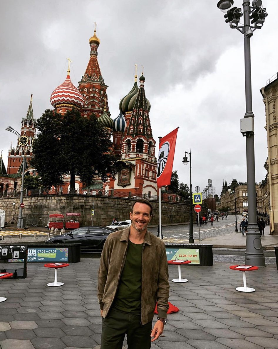 Stéphane Rotenberg - Pékin Express - Place Rouge - Moscou