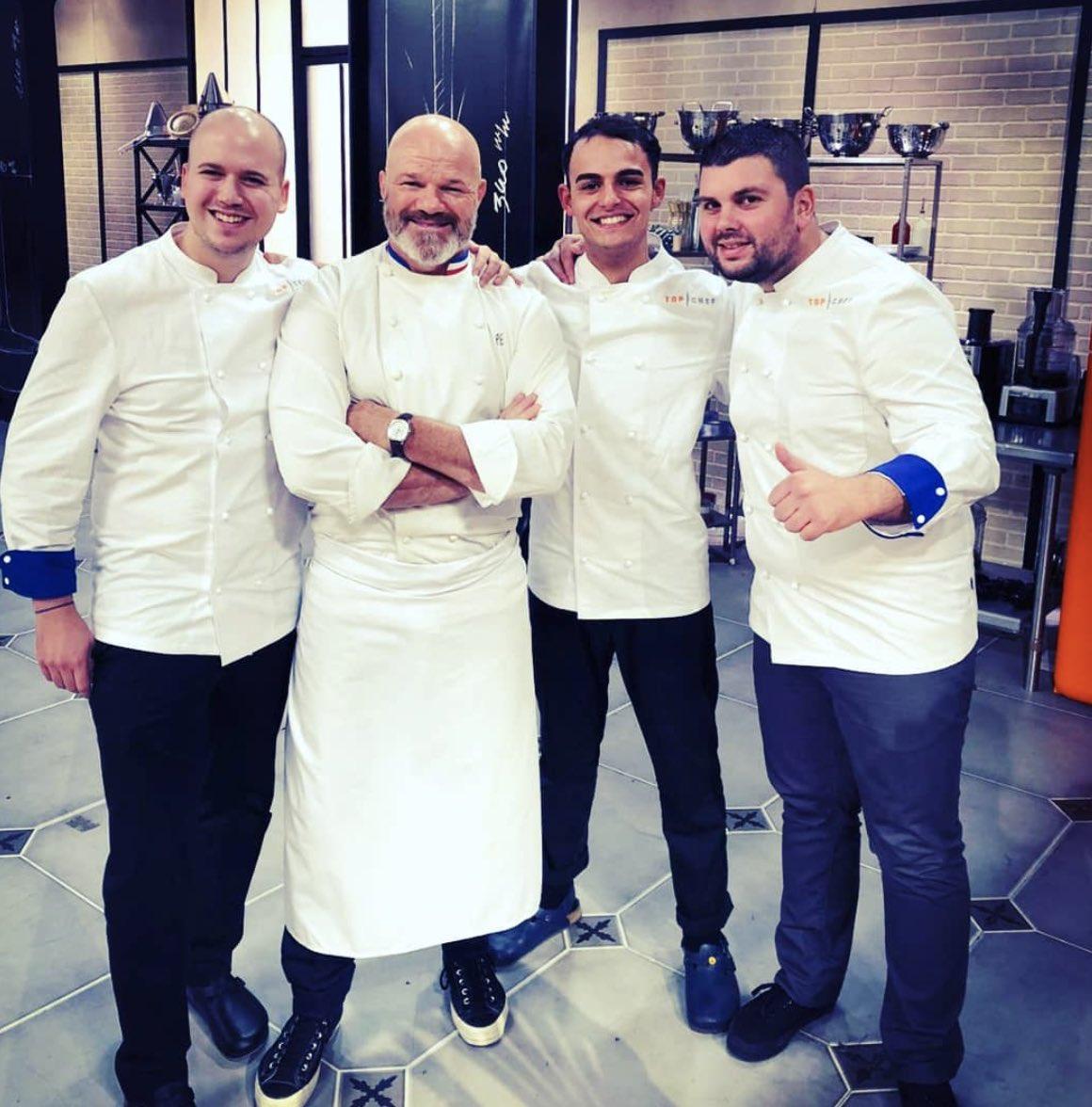 Top Chef 11 - Top Chef - Philippe Etchebest - brigade bleue - brigade