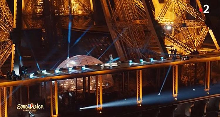 Tom Leeb - Eurovision - Eurovision 2020 - The Best in Me - Tour Eiffel - France 2
