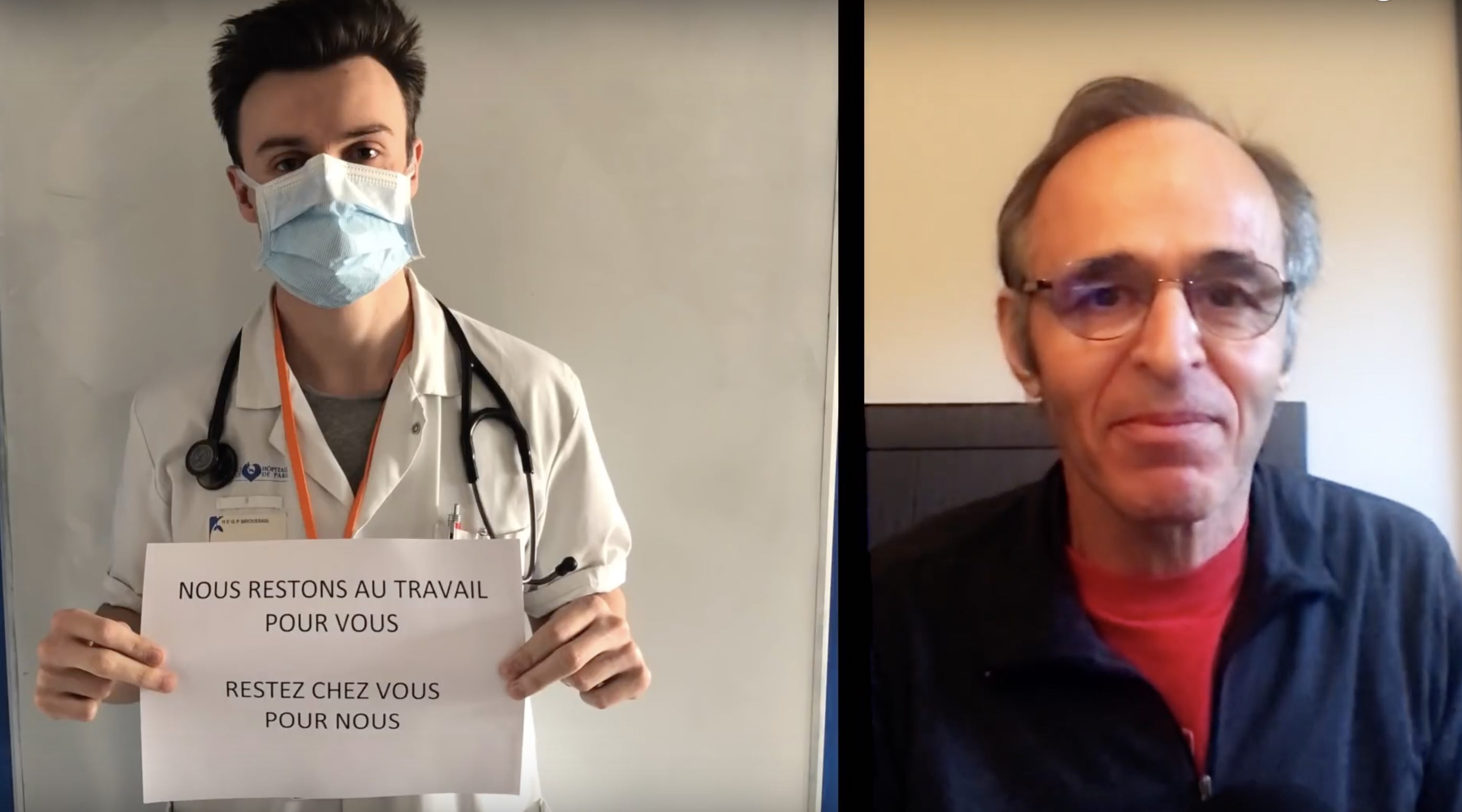 JJ Goldman - hommage - ils sauvent nos vies