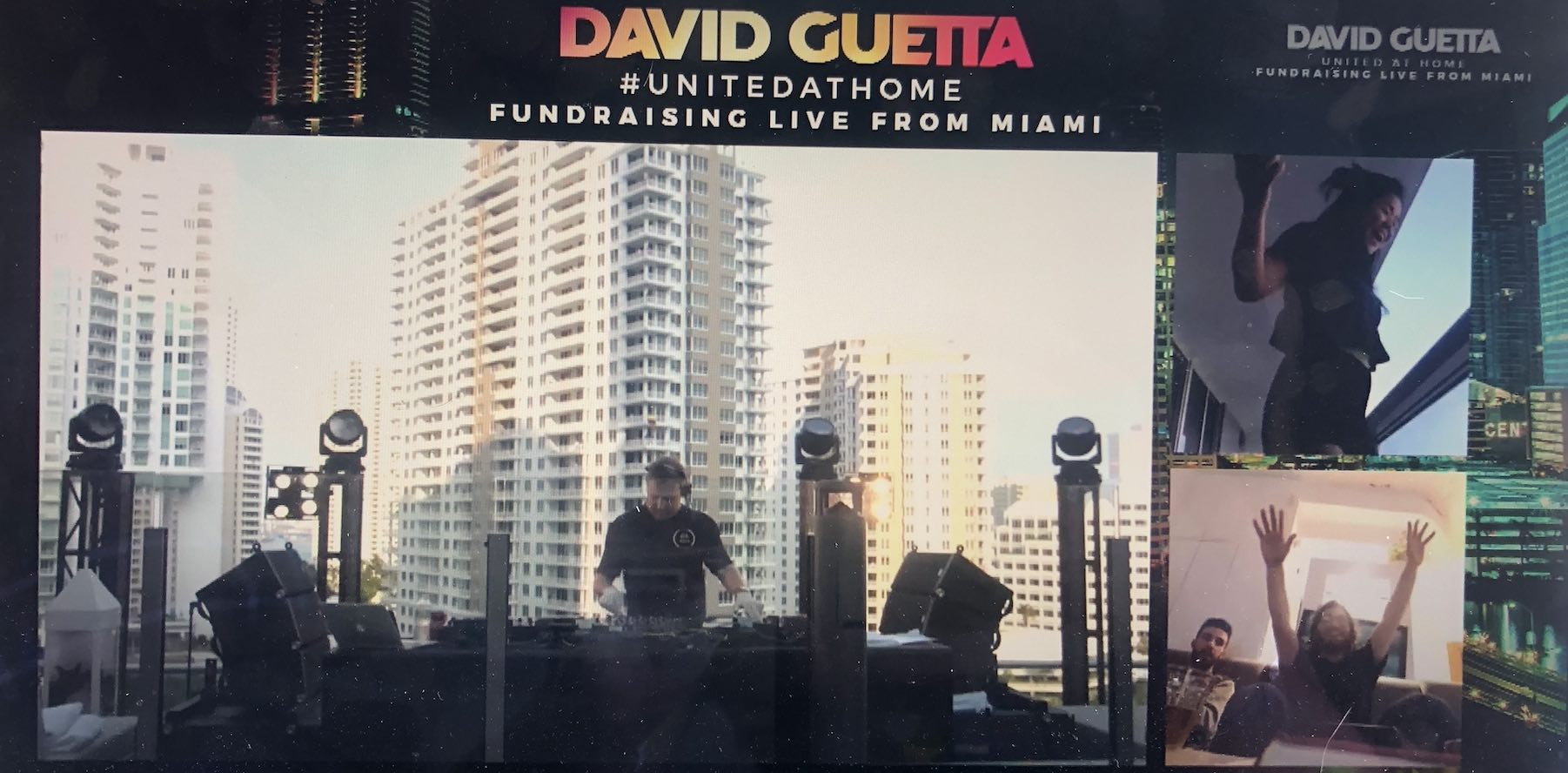 David Guetta - United At Home - Concert - Confinement - Miami