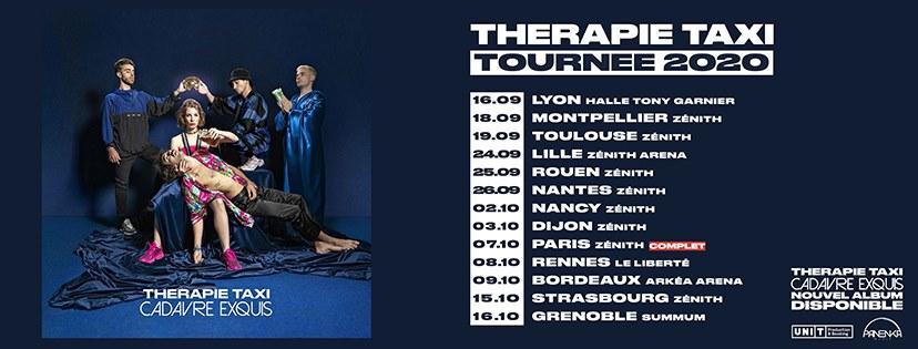 Thérapie Taxi - Tournée - concerts - report