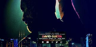David Guetta - United At Home - Concert - confinement - Miami