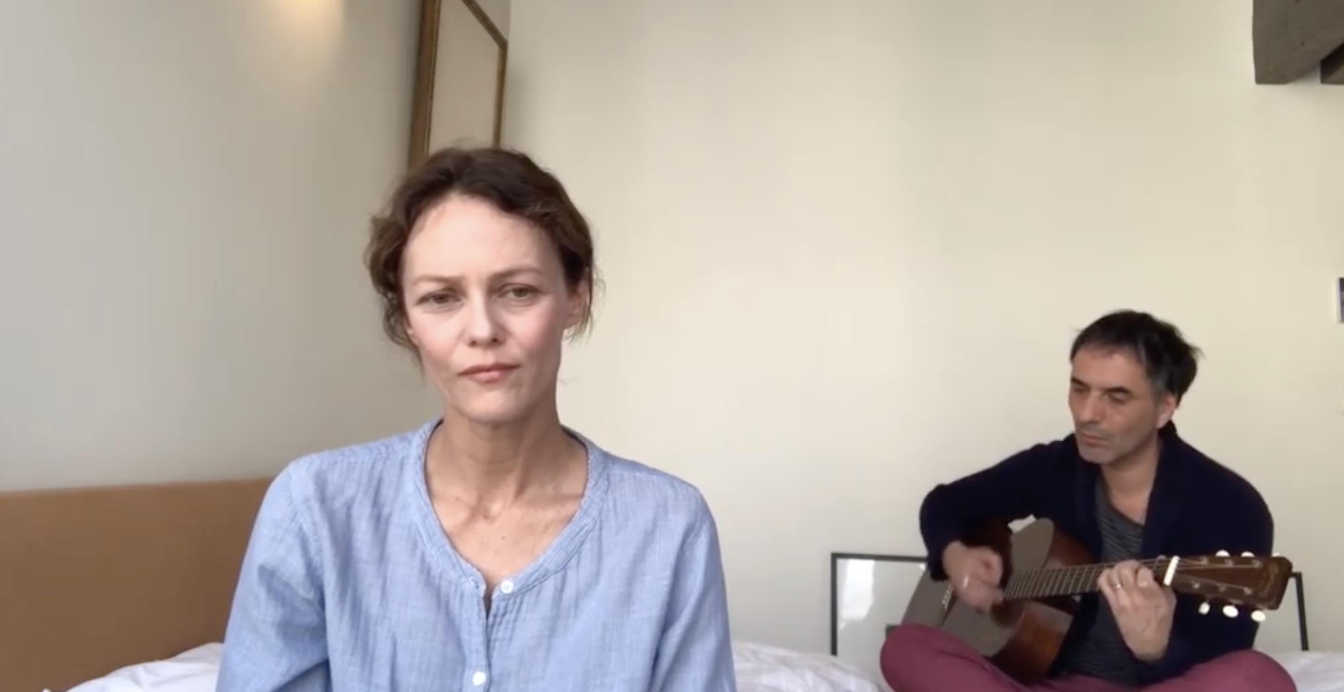 Hommage soignants - Vanessa Paradis