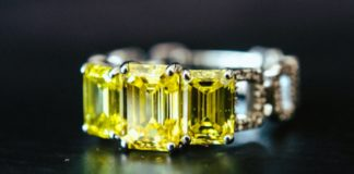 diamants jaunes -diamants de synthèse - joaillerie - maison courbet - diamant - parure - bijou - place vendome - syma news - art de vivre - mazarine yeremian