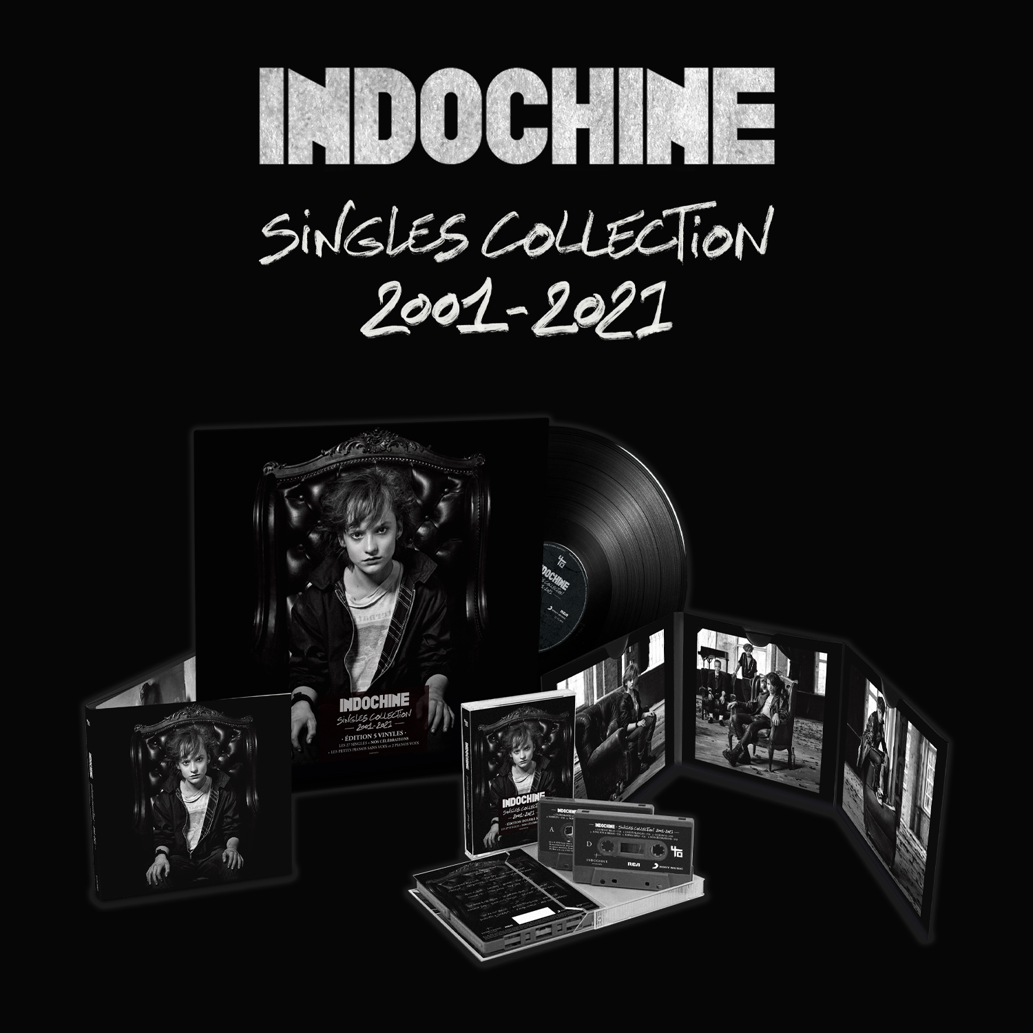 Indochine - 40 ans - Singles collection