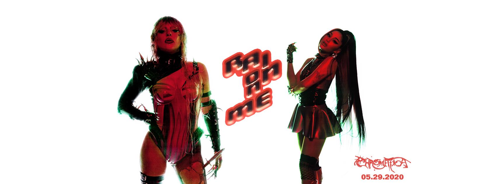 Lady Gaga - Ariana Grande - Rain on me - Chromatica