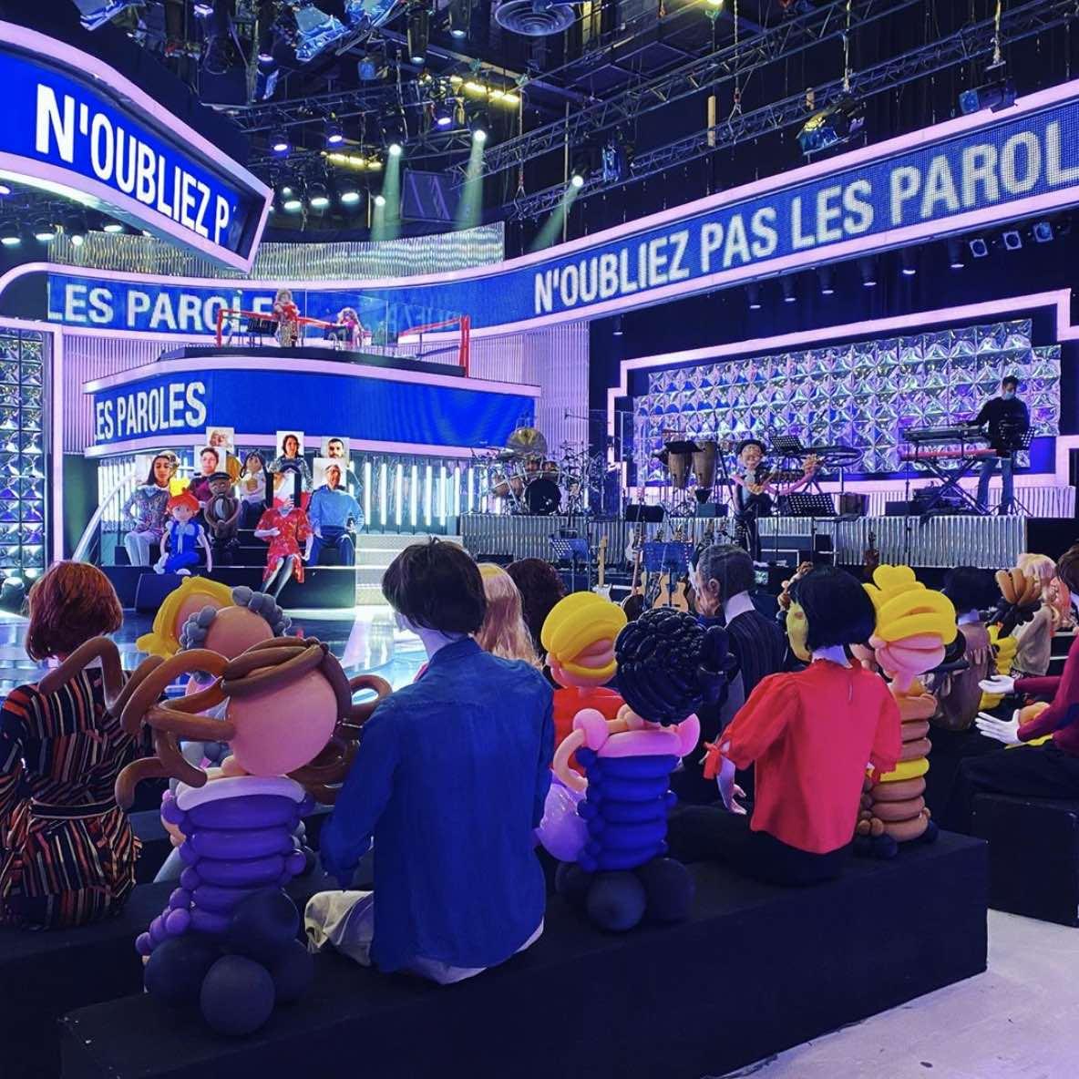 N'oubliez pas les paroles - France 2 - Nagui - Déconfinement - tournage