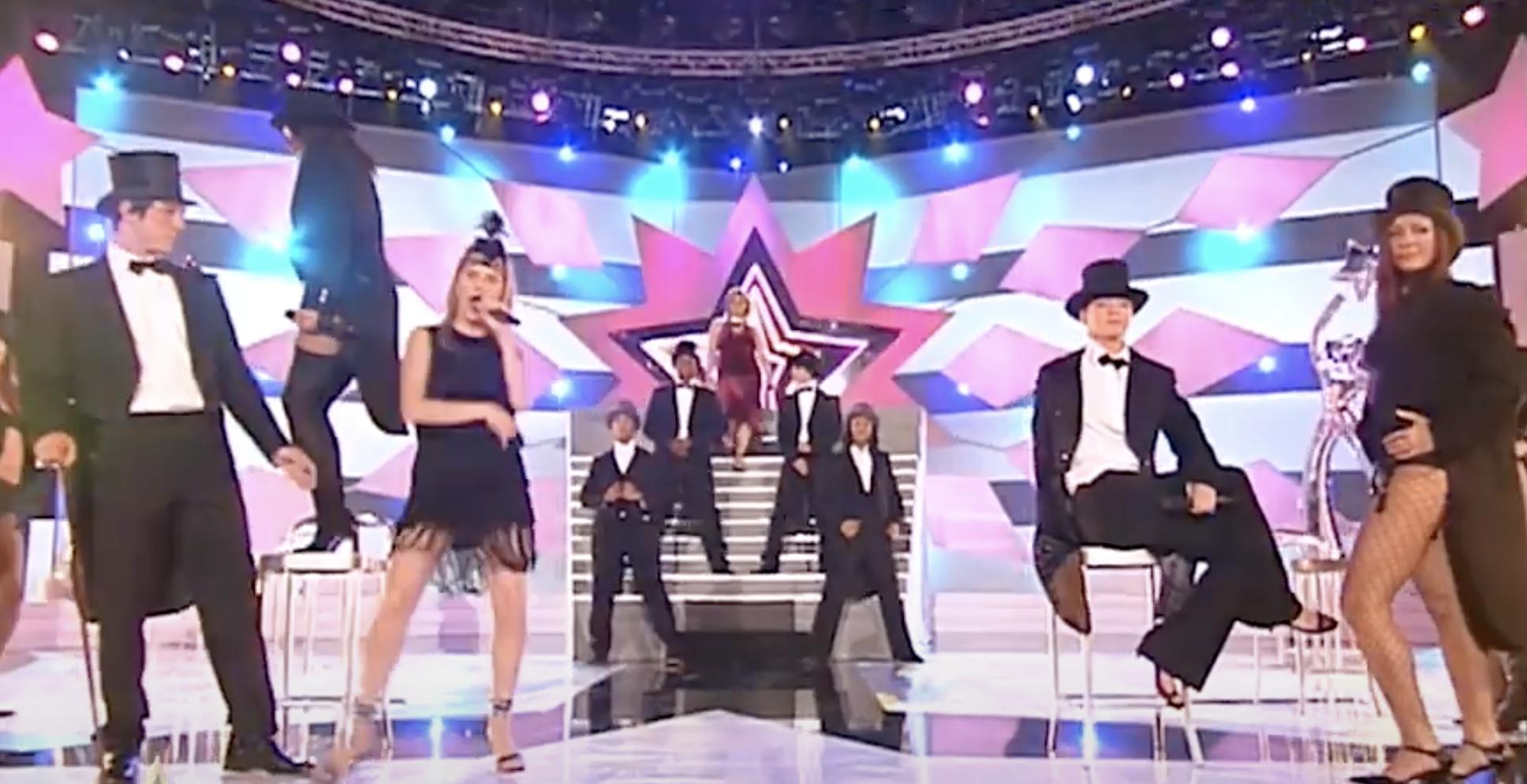 Star academy - danse - plateau - Kamel Ouali - danseuses