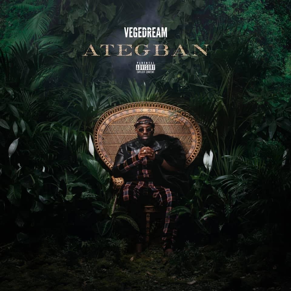 Vegedream - Ategban - album - pochette