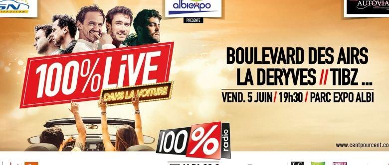 Boulevard des airs - Tibz - 100% Live - drive in - déconfinement