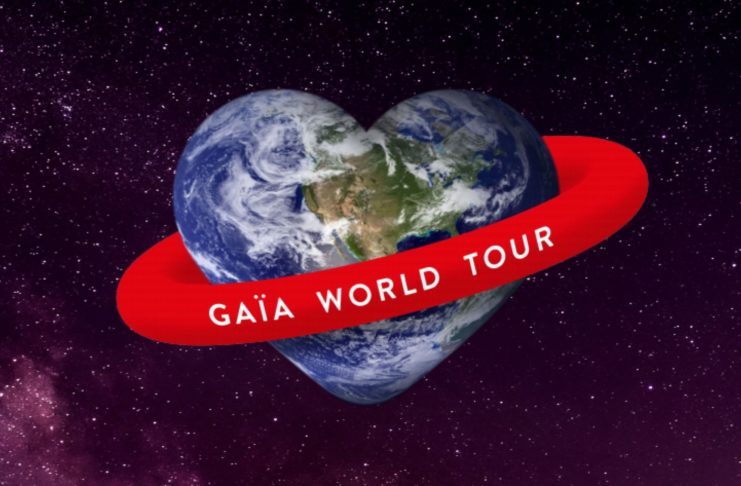 gaia world tour - festival gaia - musique - environnement - science - chanteur - facebook - youtube - bio - biodiversite - naturopathe - sicience - save the planete - symanews - hubert reeves - ray lema - mcKelle
