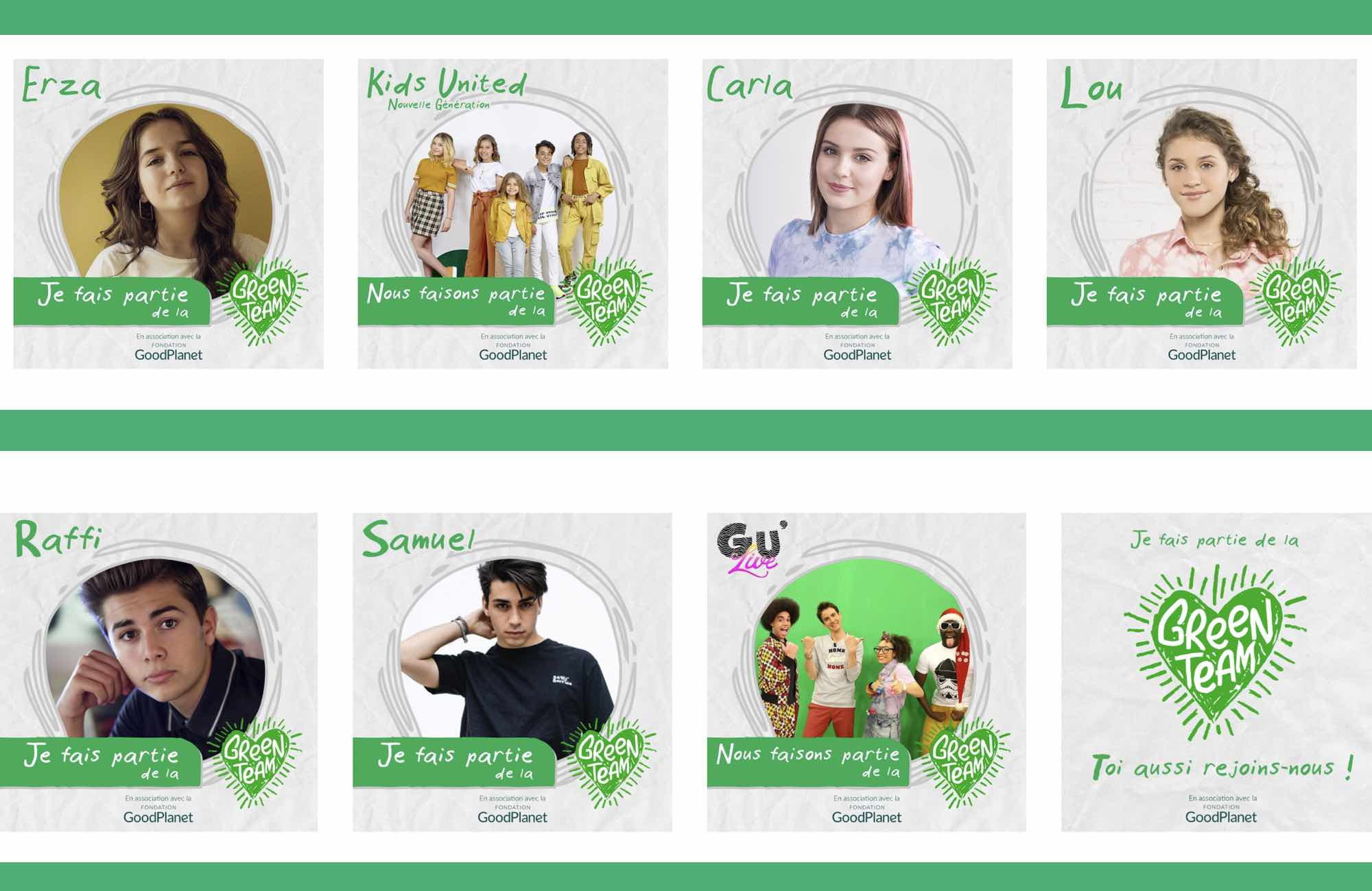 Green Team - Les enfants du monde
