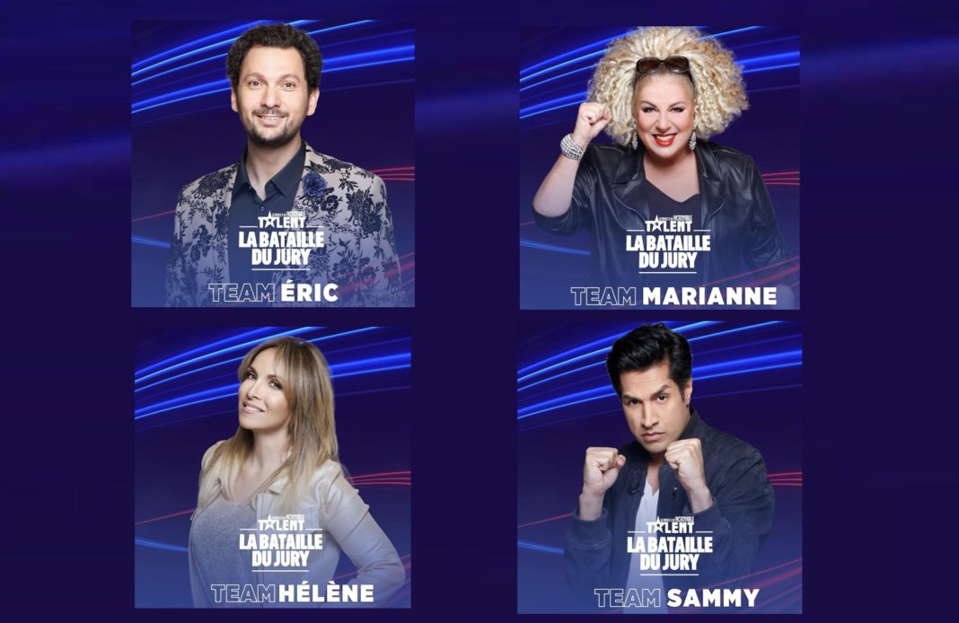 La bataille du jury - M6 - La france a un incroyable talent