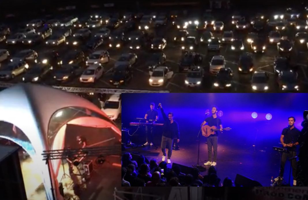 Boulevard des airs - Albi - Drive in - concert