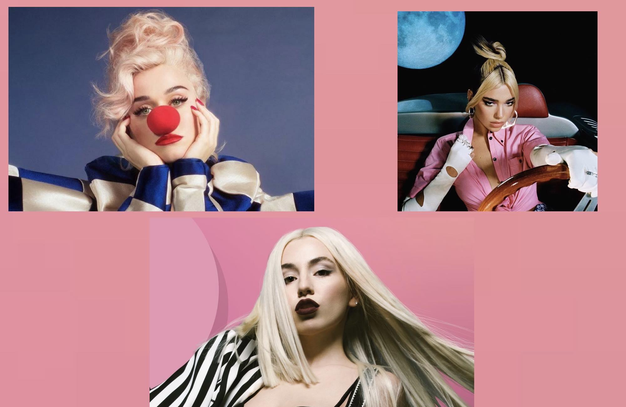 Katy Perry - Ava Max - Dua Lipa