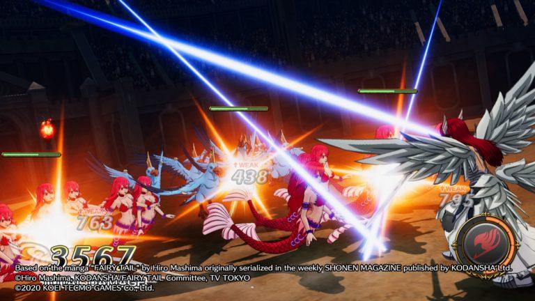 Fairy Tail Hiro Mishima manga shonen jeu video gust koei tecmo natsu gray lucy wendy erza jeu de roles JRPG anime jump