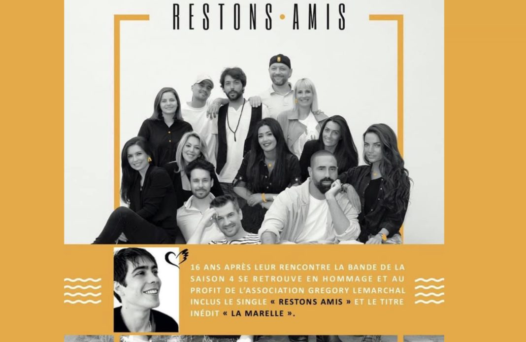 Restons amis - Star Academy 4 - Star academy - Gregory Lemarchal