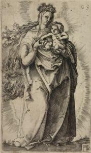 altdorfer - dessin - gravure - burin - syma news - musee - louvre - exposition - expo - florence yeremian - portrait - marie - saint - religion - huile - peinture