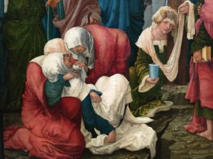 altdorfer - syma news - musee - louvre - exposition - expo - florence yeremian - portrait - marie - saint - religion - huile - peinture