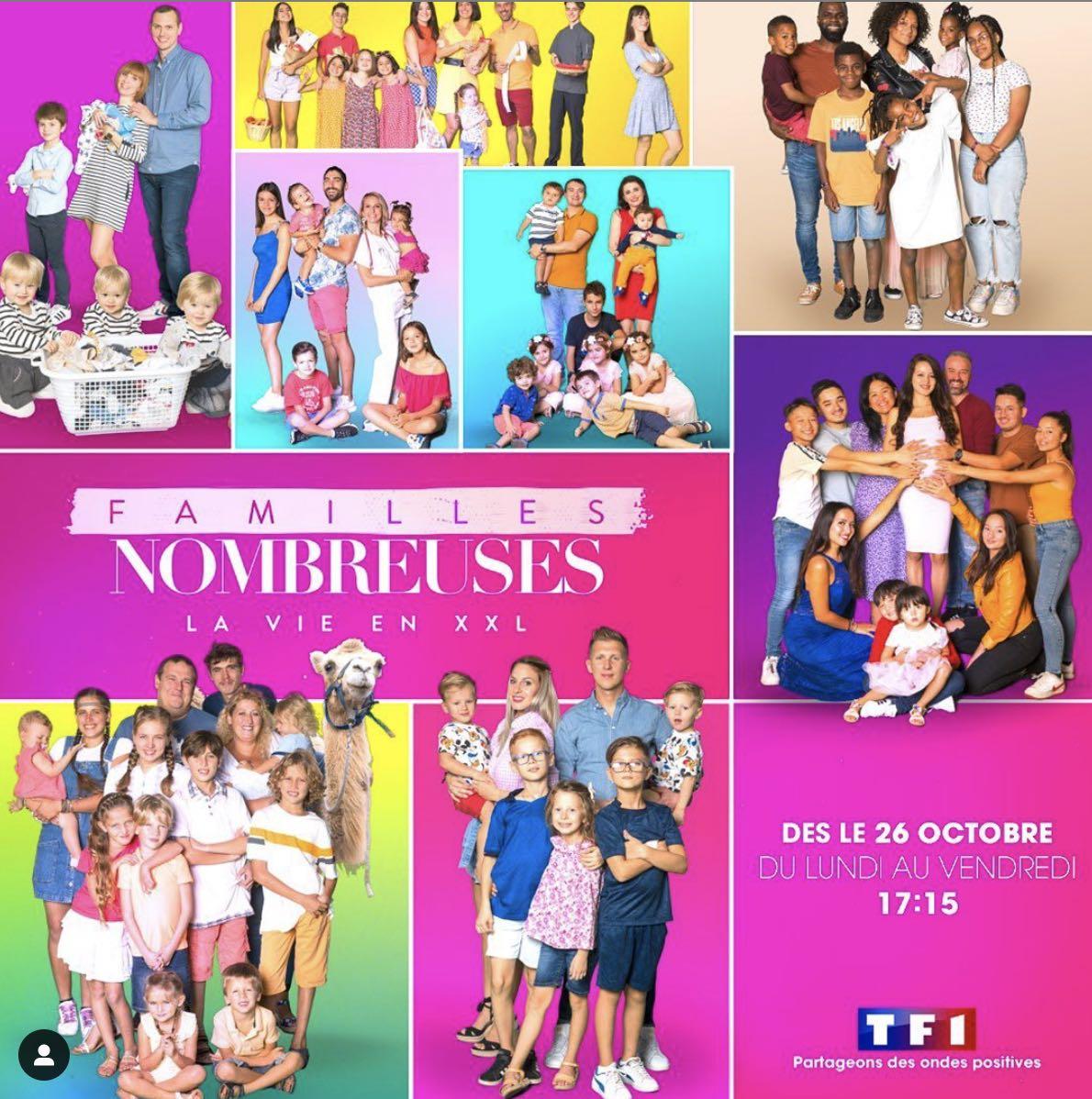 Familles nombreuses - la vie en XXL - TF1 -saison 2