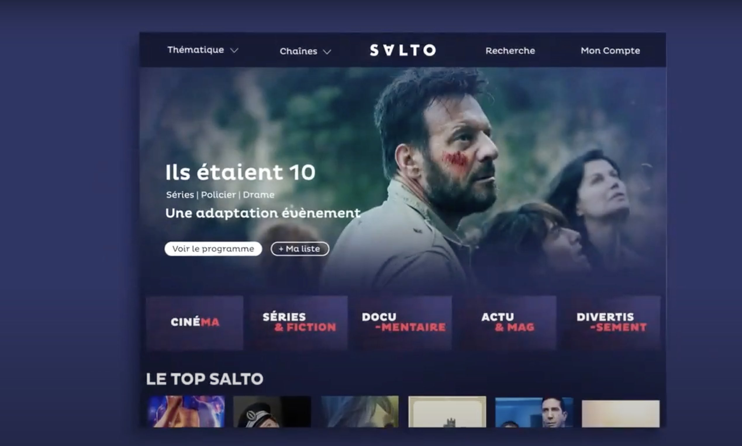 Salto - Plateforme streaming - TV