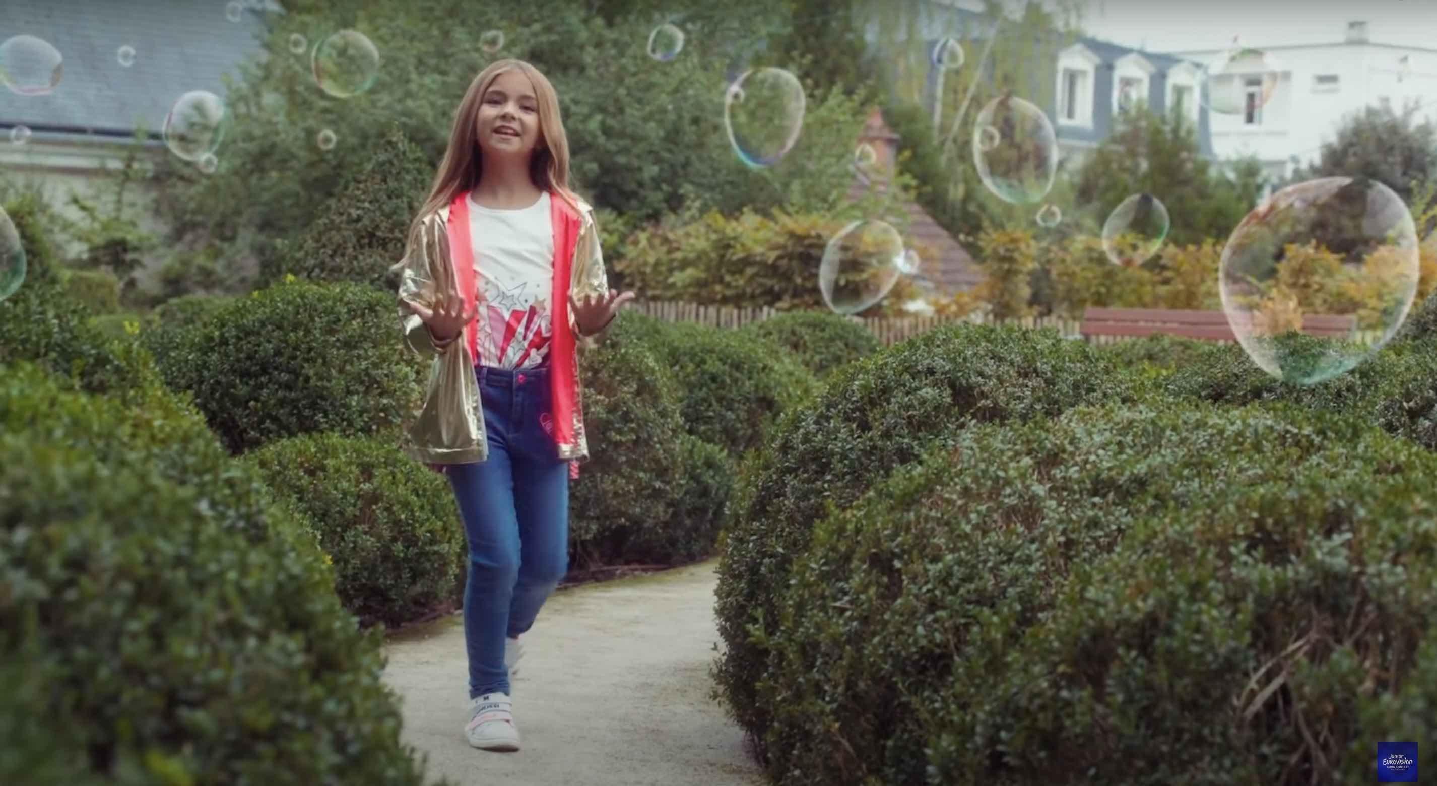Valentina - J'imagine - Eurovision Junior - Eurovision Junior 2020