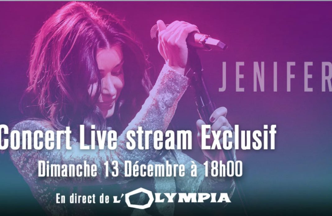 Jenifer - live stream - Olympia - reconfinement