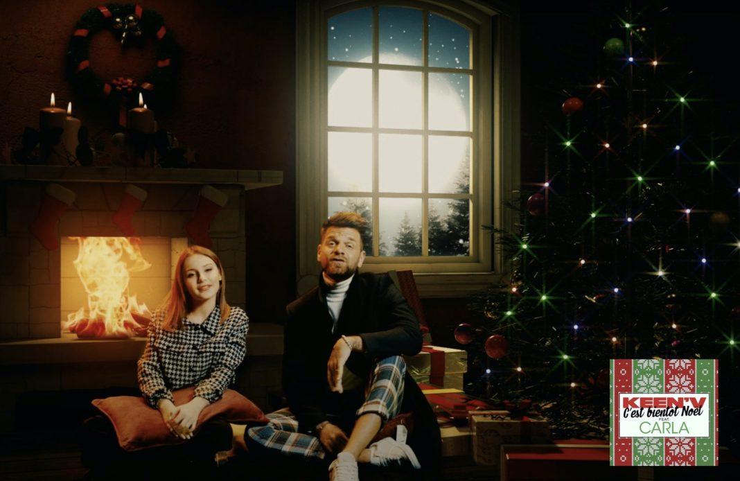 Keen'V - Carla - C'est bientôt Noël