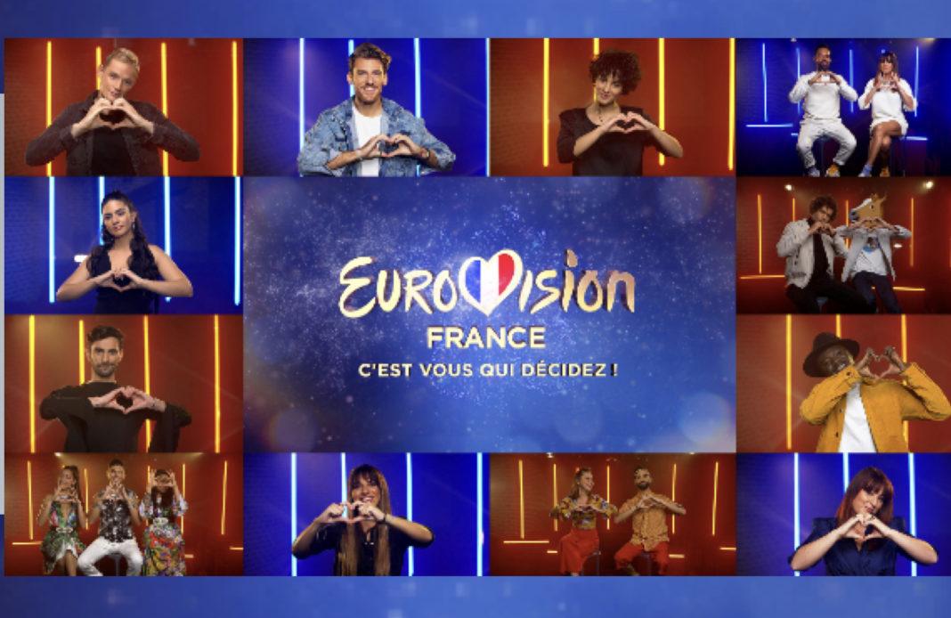 Eurovision 2021 - Eurovision - Eurovision France c'est vous qui décidez - candidats
