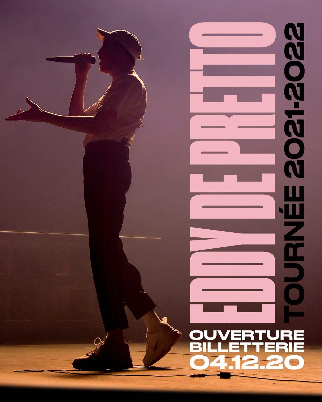 Eddy de Pretto - tournée 2021 - concerts -